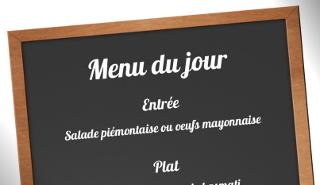 Faire Une Affiche De Menu Du Jour Restaurant à Imprimer