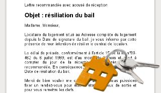 Modèles De Lettres De Résiliation Gratuites Parchancefr