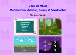 Jeux de multiplication en ligne - Jeu en ligne table de multiplication ...
